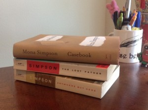 Casebook, by Mona Simpson
